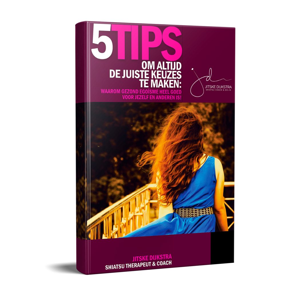 3D cover ebook gezond egoisme